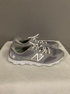 New Balance Minimus Womens Silver Golf Shoes Size 11 NBGW1001