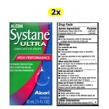 2X Systane Alcon Eye Drops Lubricant 10 ml Ultra Exp 2020