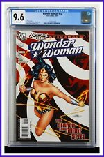 Wonder Woman #12 CGC Graded 9.6 DC October 2007 White Pages Comic Book.
