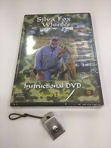 Silva Fox Whistle MINI & DVD PACKAGE- The Ultimate Fox Whistle. Calls upto 1.5km