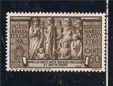 Italia Regno: AUGUSTO 1937, POSTA AEREA 50 CENT NUOVO LINGUELLATO LUSSO