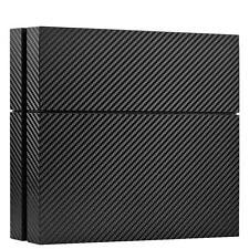 Pegatina Forro Lámina Carbon negro precisamente para PS4 Playstation 4 3D