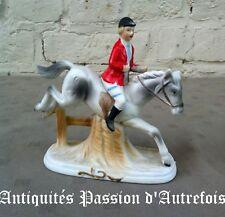 B2017873 - Jolie figurine , cavalier en biscuit de porcelaine - Très bon état