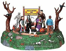 Lemax 94955 PET COSTUME CONTEST Spooky Town Table Accent Animated Halloween I