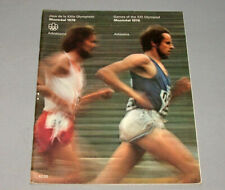 Original 1976 Montreal Olympic Official Athletics Program