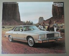 FORD LTD orig USA Mkt Sales Brochure - Landau Country Squire Wagon