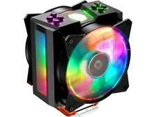 Cooler Master MA410M Addressable RGB CPU Air Cooler, 4 CDC Heatpipes, Dual 120mm