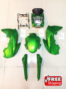 KAWASAKI Z125 pro OEM Stock plastics color Z125 Fairings (GREEN)
