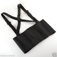 XL HeavyDuty Lift Lumbar Lower Back Waist Support Belt Brace Suspenders for Work