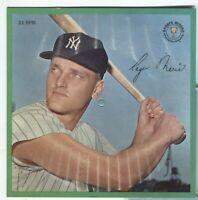 Roger Maris Sports Record 33rpm 1962 Sports Champions Columbia 020620DBT