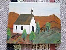 COUNTRY CHURCH - Oil Art Work