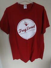 ee1574f21 Vintage Frog Level Brewery Co. Waynesville NC Beer Pullover T-Shirt Men  Large