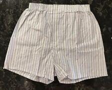 Vintage Boxer Shorts NOS 90s Towncraft JC Penney Cotton Polyester Stripes Sz 32