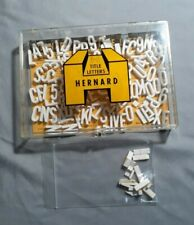 Hernard 3-D Title Letters with Case.