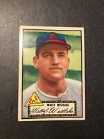 1952 Topps #38 Wally Westlake St. Louis Cardinals  VG+/EX Black Back