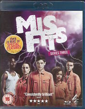 Misfits Series 3 Blu-Ray FREE SHIPPING
