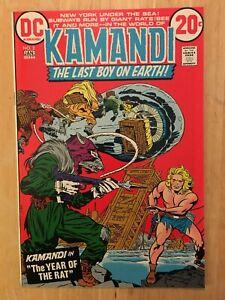 Kamandi #2 DC Comic Book NM Condition 1973 JACK KIRBY Art