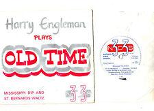 """DANCE"".HARRY ENGLEMAN ""PLAYS"" OLD TIME.UK ORIG 7"" EP & PIC/SL.EX+"