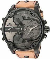 Diesel Men's DZ 7406 Mr Daddy 2.0 Quartz  Leather Chronograph Watch