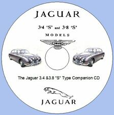 "Jaguar 3.4 & 3.8 ""S"" Type Companion CD Workshop Repair Manuals, Parts Lists"