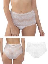 Perizomi, tanga, slip e culottes da donna bianchi floreale taglia XL