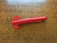 1987 GI Joe ARAH Cobra Mamba Helicopter Red Missile Rocket Bomb Part