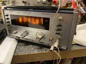 Philips PM6620 Nixie Frequency Counter/ Timer