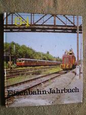 DDR Eisenbahn Jahrbuch 1984 - Speisewagen Stellwerk Schmalspurbahn Triebfahrzeug