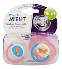 Philips Avent Freeflow Pacifier 18m+ Various Colors 2 Ct. Pacifier & Soother