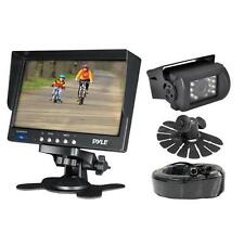 "New PLCMTR71 Weather Proof 7"" Monitor/Backup Camera W/ 50FT Connection Truck bus"
