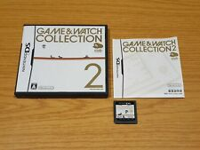 GAME & WATCH COLLECTION 2 NINTENDO DS NTSC JAPAN JP AND CLUB OCTOPUS PARACHUTE