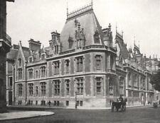 PARIS. Hôtel Gaillard, Place Malesherbes 1900 old antique print picture