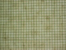 Green Grid On Green Tonal ~~ Signature Oakhurst ~~  33 X 43   Shy 1 Yd    Z2