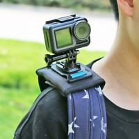 Sport Camera 360° Backpack Clip Mount Rotary For Gopro Hero 6 5 4 Action Camera