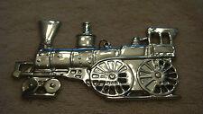 Gorham Amer. Her. Soc. Sterling Silver 1976 Locomotive/Train Christmas Ornament