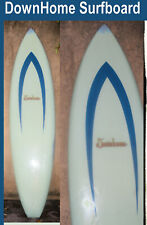 Surfboard Downhome Brand 3 Fins Missing Vintage Board Found in San Diego Green