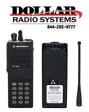 Motorola HT1000 4W 16Ch UHF 450-512Mhz Radio Radio Police Fire EMS H01SDC9AA3DN