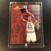 MICHAEL JORDAN 1999 UPPER DECK MVP #MJ6 MVP MOMENTS GOLD FOIL INSERT CARD BULLS