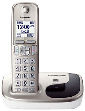 New Panasonic KX-TGD210N DECT 6.0 Expandable Digital Cordless Phone w/ 1 Handset