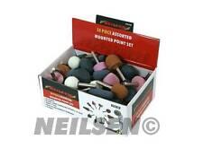 """Mounted grinding stones 50pc pour air die meuleuse outil polissage queue de 1/4"""" 3128"""