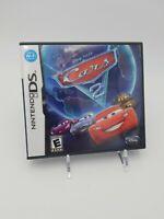 Cars 2: The Video Game (Nintendo DS, 2011) Pixar Disney complete cib