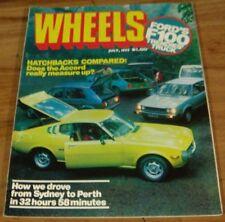 1977.WHEELS.FORD F100.CELICA.GOLF.TORANA.ACCORD.300D.XC FALCON.Renault.Drifter