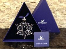 2007 - New Swarovski Crystal Large Snowflake Christmas Ornament with certificate