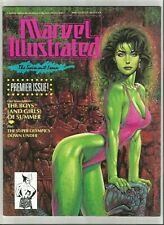 MARVEL ILLUSTRATED: THE SWIMSUIT ISSUE #1 ~ VF+ 1991 COMIC ~ STELFREEZE COVER