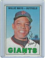 1967 Topps #200 Willie Mays UER San Francisco Giants HOF Nice Color