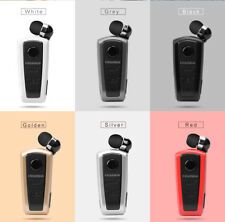 Original FineBlue F910 Wireless Bluetooth Headset Business Earphone Vibrate Clip