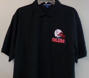 NFL AFL Houston Oilers Logo Mens Polo Shirt XS-6XL, LT-4XLT Tennessee Titans New