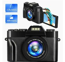 Digital Vlogging camera Video Camera 30mp 2.7k 16X Digital Zoom 180° Flip Screen