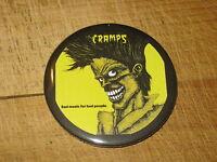 The Cramps fridge magnet 58mm - punk / rockabilly / psychobilly