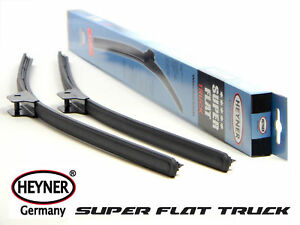 MAN TG, TGA, TGL, TGM, TGS, TGX SUPER FLAT commercial windscreen  WIPER BLADES